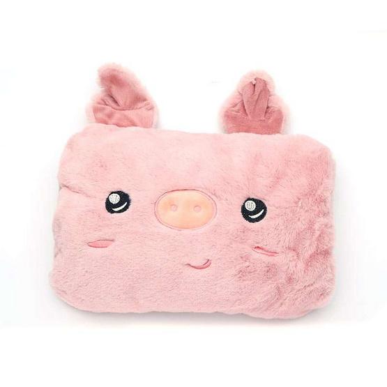 กระเป๋าน้ำร้อน น้องหมูสีชมพู