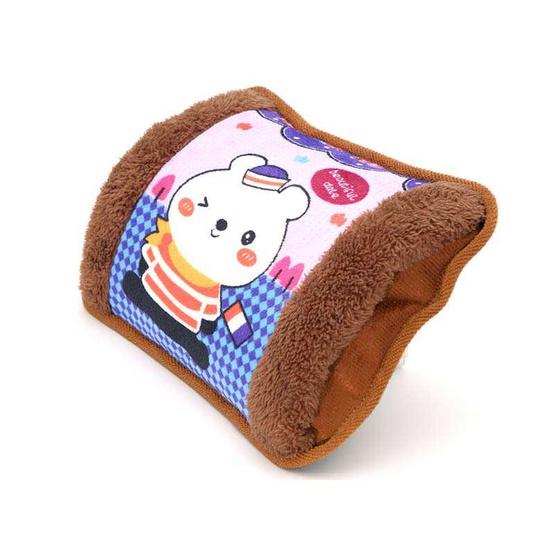 กระเป๋าน้ำร้อน ลายหมีขาวท่องเที่ยว