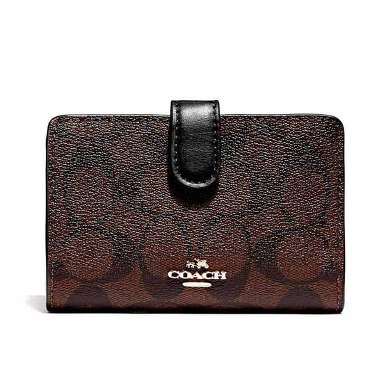 COACH F23553 MEDIUM CORNER ZIP WALLET (IMAA8)