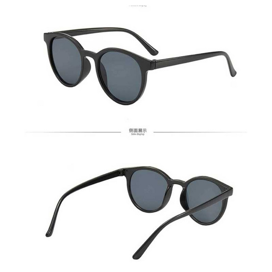 Signature แว่นตากันแดดแฟชั่น BK สีดำ