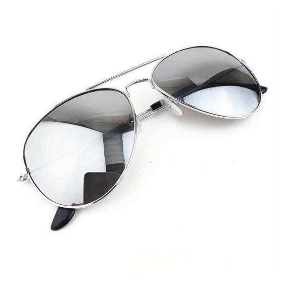 Signature แว่นตากันแดดแฟชั่น BK สีดำ กรอบเงิน