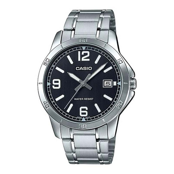 Casio นาฬิกาข้อมือ รุ่น MTP-V004D-1B2