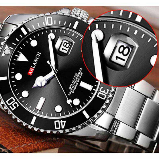 ARLANCH นาฬิกาข้อมือ รุ่น AR306-SI/BK