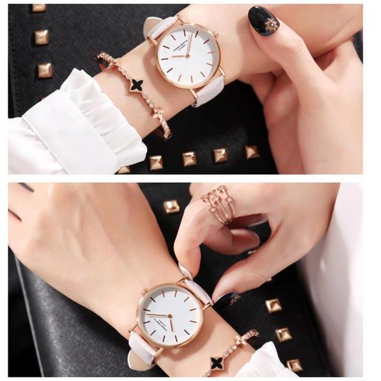 HANNAH MARTIN นาฬิกาข้อมือ รุ่น HMBS36-PI