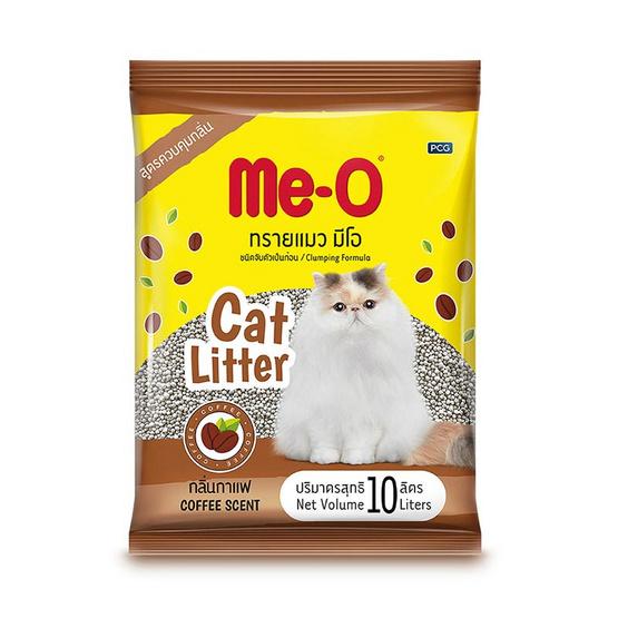 มีโอ ทรายแมว กลิ่นกาแฟ ขนาด 10 ลิตร