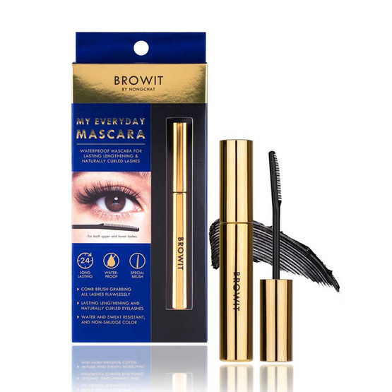 Browit มาสคาร่า My Everyday Mascara 5.5 กรัม #Endless Night
