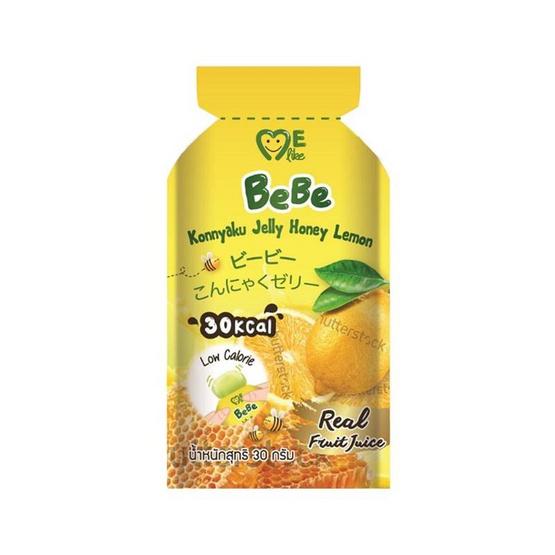 มีไลค์ เยลลี่ผสมผงบุกรสน้ำผึ้งมะนาว 30 กรัม