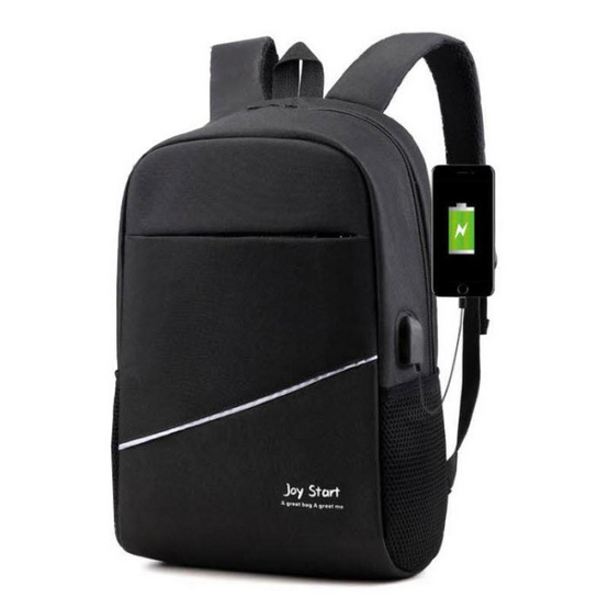 Fancybag กระเป๋าเป้ Backpack Nylon ใส่ Notebook