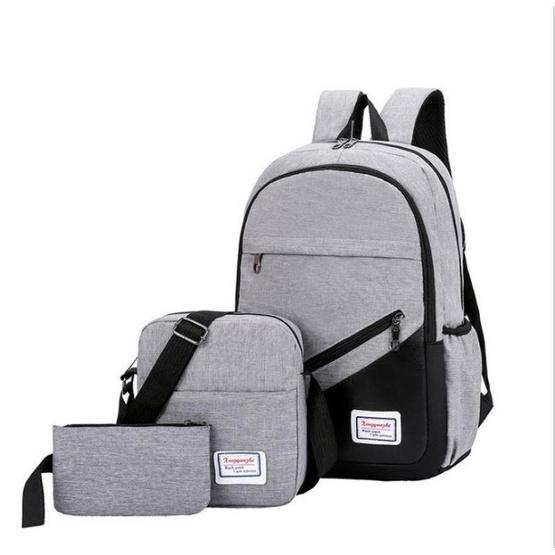 Fancybag กระเป๋าเป้ Nylon PACK 3 ชิ้น