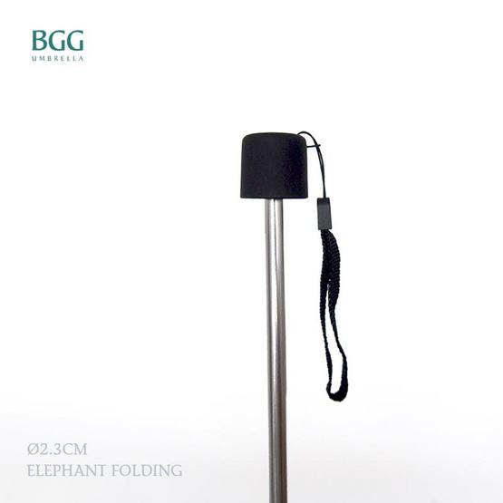 BGG ร่มพับ 3ตอน เคลือบuvสีเงิน สีม่วง