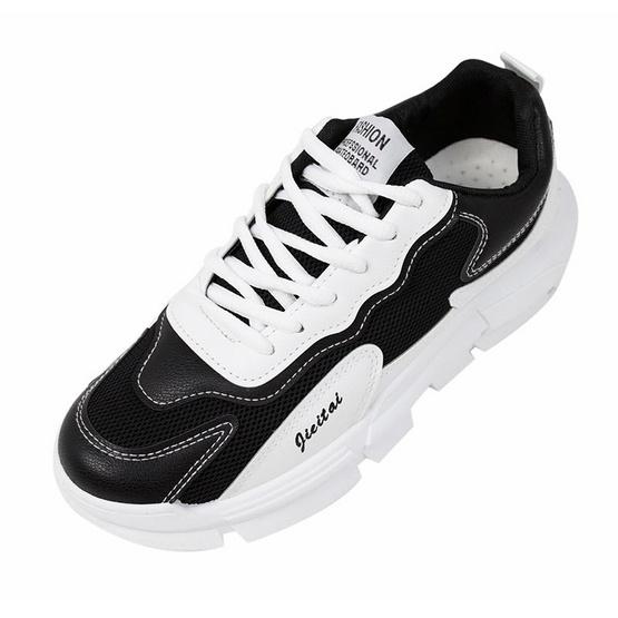 CHARLED รองเท้า รุ่น RN1902-WH0140 0.3 WH01 ขาว/ดำ