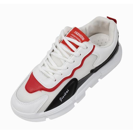 CHARLED รองเท้า รุ่น RN1902-WH0743 0.3 WH07 ขาว/แดง