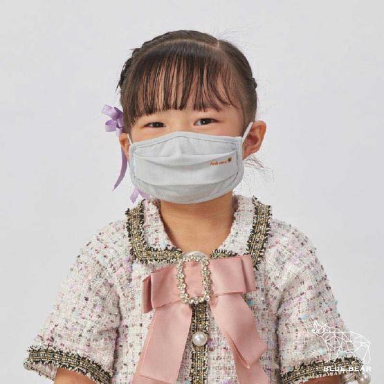 หน้ากากผ้า รุ่นเซฟการ์ด (แอนตี้ไวรัส&แอนตี้แบคทีเรีย) สไตล์ยุโรป (ผู้ใหญ่)- สีเทา