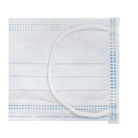 ไมโครเท็กซ์ หน้ากากป้องกันฝุน (กล่อง 50 ชิ้น) สีฟ้า