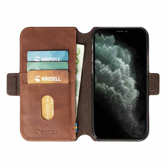 Krusell เคสโทรศัพท์ iPhone 12/12 Pro รุ่น Sunne Phone Wallet