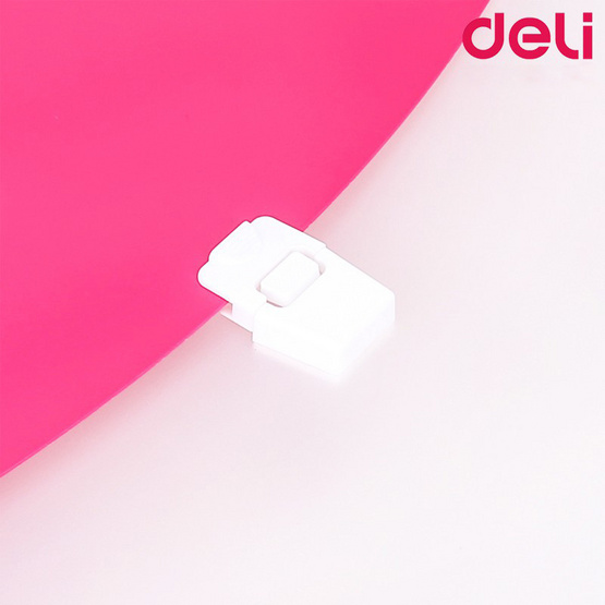 Deli 5571 PP Document Case กระเป๋าหิ้วใส่เอกสาร A4 (คละสี)