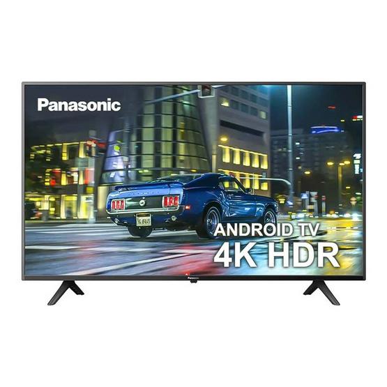 Panasonic Android LED TV 4K ขนาด 43 นิ้ว รุ่น TH-43HX600T