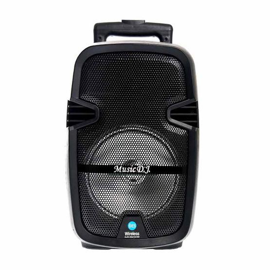 MUSIC D.J. ลำโพงบลูทูธ มีล้อลาก M-M991 Bluetooth / USB / TF / MIC / FM พร้อมไมค์ลอย