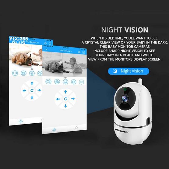 Worldtech กล้อง IP Camera รุ่น WT-CCM010-1080P-BM