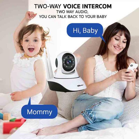 Worldtech กล้อง IP Camera รุ่น WT-CCM002IP720P(GV)-BM