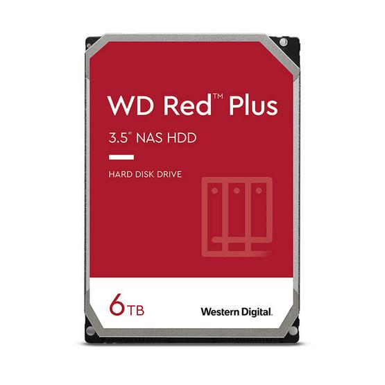 WD ฮาร์ดดิสก์ Caviar Red NAS SATA3(6Gb/s) 64MB (WD60EFRX) 6TB