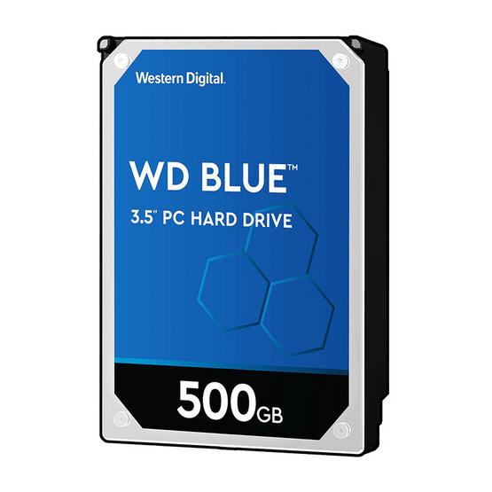 WD ฮาร์ดดิสก์ Caviar Blue 7200rpm SATA3(6Gb/s) 32MB (WD5000AZLX) 500GB