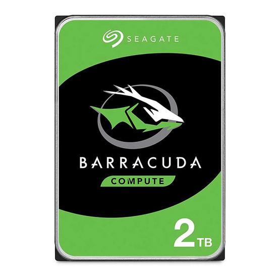 Seagate ฮาร์ดดิสก์ BarraCuda 3.5 256MB 7200 RPM SATA 6GB/s (ST2000DM008) 2TB