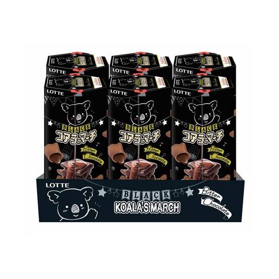 โคอะลามาร์ชแบล็คไส้ช็อกโกแลต 33 กรัม แพ็ก 6 ชิ้น