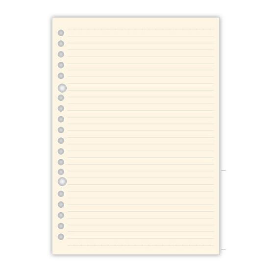 กระดาษรีฟิลแบบมีเส้น 20รู A5 แพ็ก50แผ่น (3 แพ็ก)