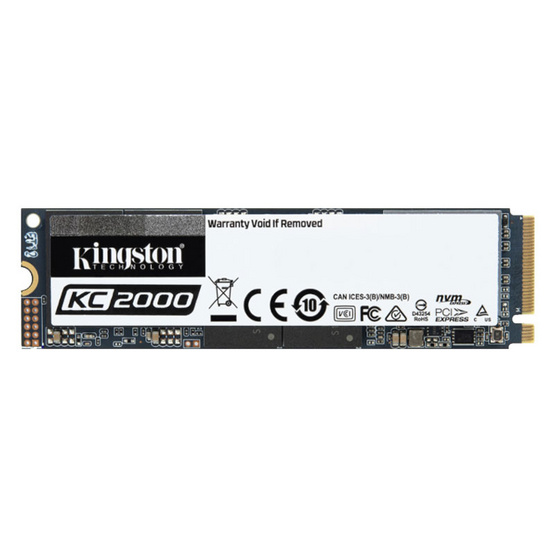 Kingston SSD SKC2000M8 M.2 2280 NVMe PCIe Gen 3.0 x 4 1000 GB
