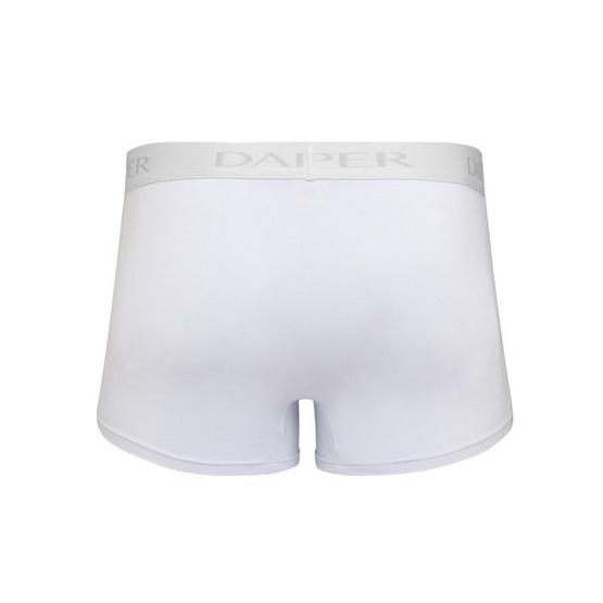 Dapper Men's Pima Cotton White Trunks