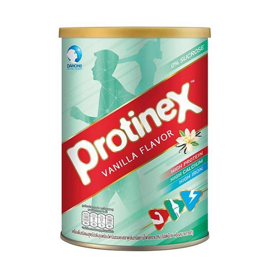 โปรติเน็กซ์ เครื่องดื่มชนิดผงผสมโปรตีนพร้อมวิตามินและแร่ธาตุ กลิ่นวานิลลา 400 กรัม