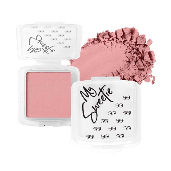 Mongrang บลัชออน My Sweethi Blush Matte #10 Pinky
