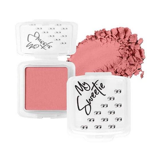 Mongrang บลัชออน My Sweethi Blush Matte #11 Flamingo