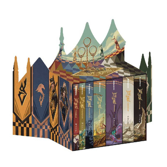 Box set แฮร์รี่ พอตเตอร์ ฉลอง 20 ปี (ปกแข็ง)