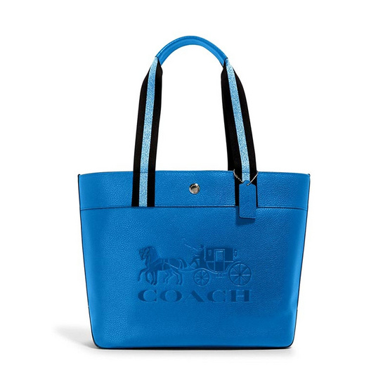 COACH 1896 JES TOTE WITH HORSE AND CARRIAGE(SVN2W)
