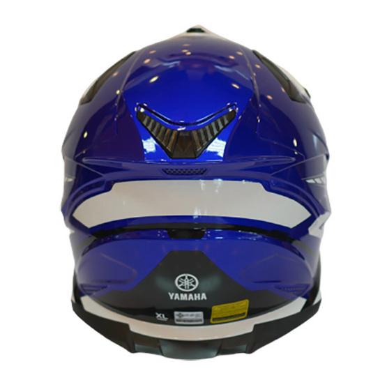 YAMAHA WR หมวกกันน็อคทรงวิบาก (สีน้ำเงิน)