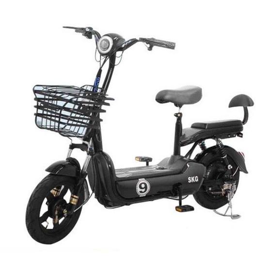 SKG จักรยานไฟฟ้า แถมที่สูบลมและหมวกกันน็อค (คละแบบ)