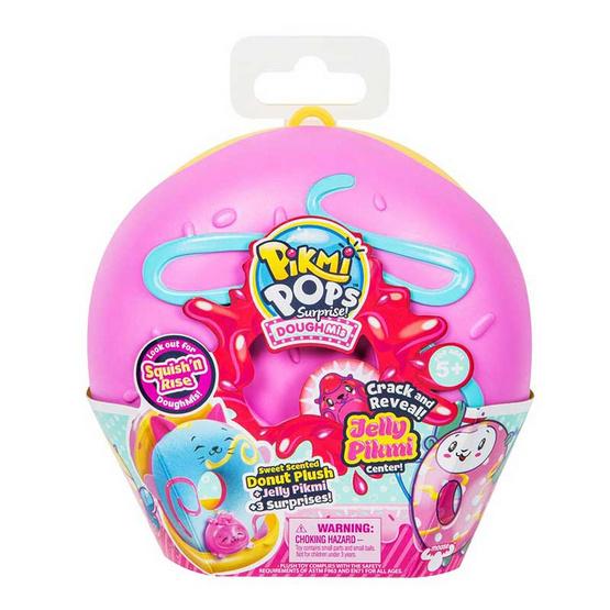 Pikmi Pops ตุ๊กตาโดนัทไซด์ใหญ่ มีกลิ่นผลไม้ (คละสี/คละแบบ)