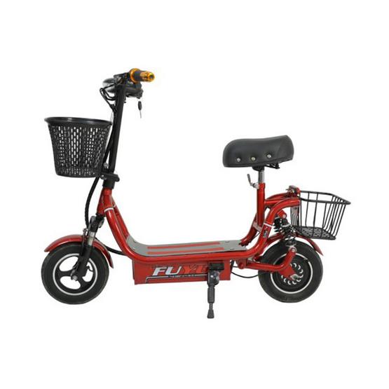 Electric Scooter EC-K2รถสกู๊ตเตอร์ไฟฟ้า 10 นิ้ว สีแดง