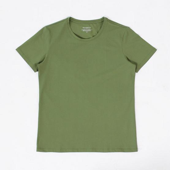 Tepp Simply เสื้อยืดแขนสั้น AM FINE สีเขียว