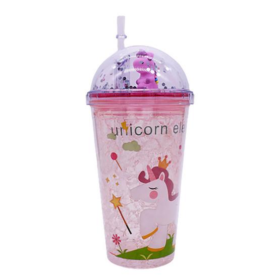 The Story of Alisa แก้วน้ำแฟชั่น ลาย Unicorn1 ขนาด 450 มล.