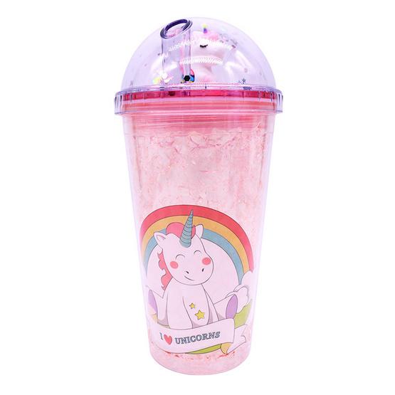 The Story of Alisa แก้วน้ำแฟชั่น ลาย Unicorn3 ขนาด 450 มล.