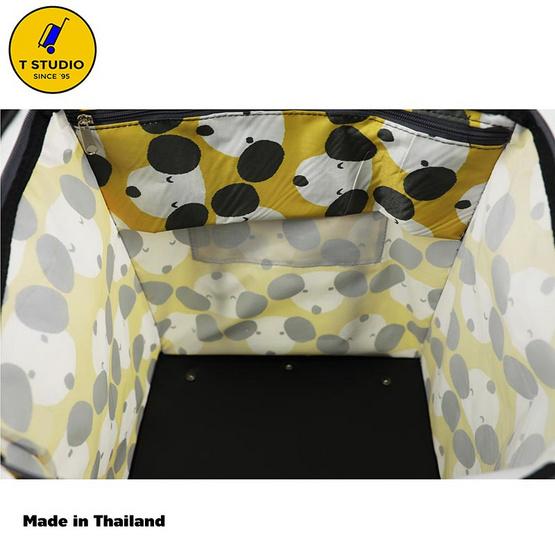 Tstudio กระเป๋าเดินทาง 2 ล้อลาก ขนาด15 นิ้ว สีเหลือง7723