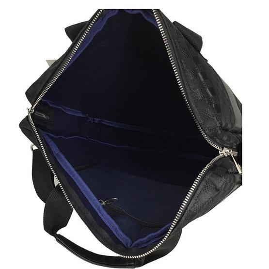 KL POLO กระเป๋าสะพายทรงตั้งลายตาราง ขนาด 15 นิ้ว