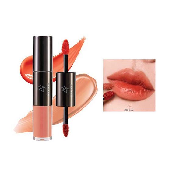 LRY Lips & Cheeks Match #M03 Lively ฟรี LRY Lips & Cheeks Match (คละสี)