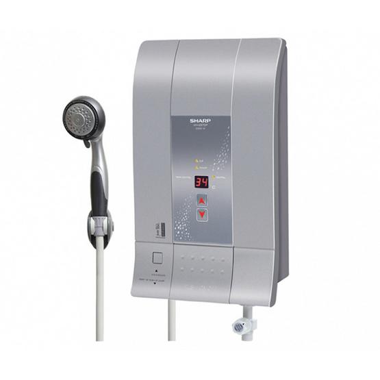 Sharp เครื่องทำน้ำอุ่นดิจิตอล 3500 วัตต์ รุ่น WH-237DP