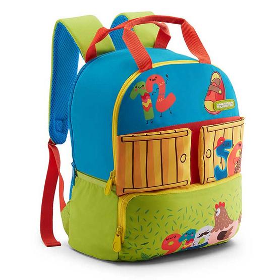 American Tourister กระเป๋าเด็ก COODLE BACKPACK 02 BLUE/GREEN