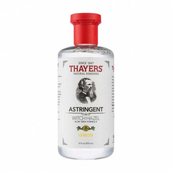 THAYERS โทนเนอร์ Witch Hazel สูตร Aloe Vera Formula Lemon 355 มล.