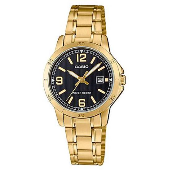 Casio นาฬิกาข้อมือ รุ่น LTP-V004G-1B